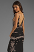 Image 1 of WOODLEIGH Sadie Tank Maxi in Charcoal