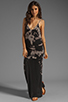 Image 2 of WOODLEIGH Sadie Tank Maxi in Charcoal
