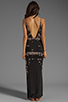 Image 4 of WOODLEIGH Sadie Tank Maxi in Charcoal