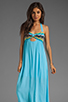 Image 1 of WOODLEIGH Keaton Maxi in Turquoise