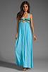 Image 2 of WOODLEIGH Keaton Maxi in Turquoise