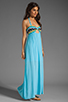Image 3 of WOODLEIGH Keaton Maxi in Turquoise