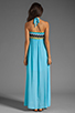 Image 4 of WOODLEIGH Keaton Maxi in Turquoise