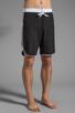 Image 2 of Y-3 Yohji Yamamoto Surf Short in Y-3 Black