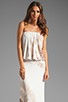 Image 1 of Young, Fabulous & Broke Sydney Maxi in Tan Zion Wash