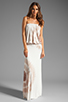 Image 2 of Young, Fabulous & Broke Sydney Maxi in Tan Zion Wash