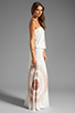 Image 3 of Young, Fabulous & Broke Sydney Maxi in Tan Zion Wash