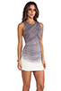 Image 3 of Young, Fabulous & Broke Heloise Mini in Grey Ombre