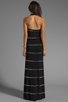 Image 3 of Young, Fabulous & Broke Garnet Maxi in Black Super Skinny Stripe
