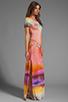 Image 3 of Young, Fabulous & Broke Montauk Rothko Print Maxi in Multi
