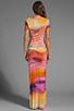 Image 4 of Young, Fabulous & Broke Montauk Rothko Print Maxi in Multi