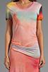 Image 5 of Young, Fabulous & Broke Montauk Rothko Print Maxi in Multi