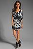 Image 2 of Young, Fabulous & Broke Trish Tunic in Black Rio Wash