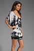 Image 3 of Young, Fabulous & Broke Trish Tunic in Black Rio Wash
