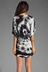 Image 4 of Young, Fabulous & Broke Trish Tunic in Black Rio Wash