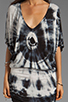 Image 5 of Young, Fabulous & Broke Trish Tunic in Black Rio Wash