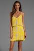 Image 1 of Yumi Kim Elsa Dress in Abstract Yellow