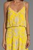 Image 5 of Yumi Kim Elsa Dress in Abstract Yellow