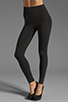 Image 1 of Yummie by Heather Thomson Breathe & Stretch Milan Legging in Black