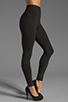 Image 2 of Yummie by Heather Thomson Breathe & Stretch Milan Legging in Black