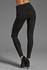 Image 3 of Yummie by Heather Thomson Breathe & Stretch Milan Legging in Black