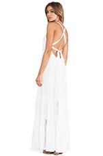 Twin Isles Maxi Dress in Coconut