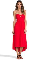 x REVOLVE Tonight's Midi Dress in Heat Wave
