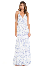 Printed Maxi in Butterfly