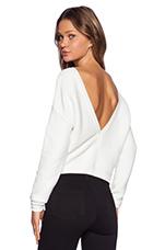 Snatch Sweater in White