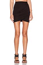 The Still Mini Skirt in Black