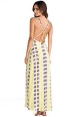 Moorea Maxi Dress in Arrow
