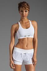Athletic Bra in White