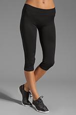 Athletic Pant in Black/Black