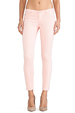 The Legging Ankle Zip in Pink