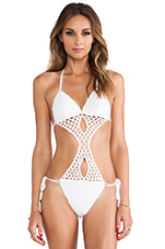 South Beach Suit in White