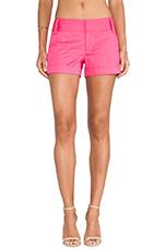 Cady Cuff Shorts in Fuchsia Pink Icing