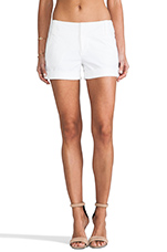 Cady Cuff Short in White