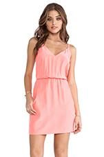 Easy Pocket Dress in Neon Ballet
