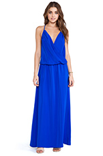 X REVOLVE Crossover Maxi Dress in Royal