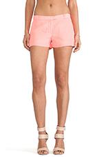 Queen Shorts in Neon Ballet