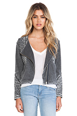 Rexburg Zipped Jacket in Carbon