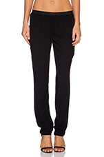 Magdalena Slim Pant in Black