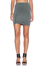 Joliette Mini Skirt in Oak