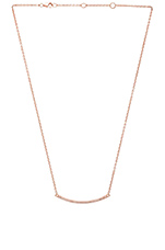 Khloe Choker Necklace in Rose Gold