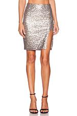 Florence Skirt in Metallic Silver