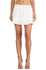 Bohemian Skirt in Ivory