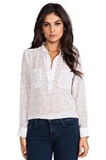 Floral Print Shirt in Lavender