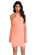 Mix Mini Dress in Pink Grapefruit