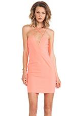 Yarra Mini Dress in Pink Grapefruit