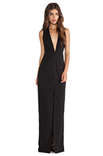 Willow Maxi Dress in Black